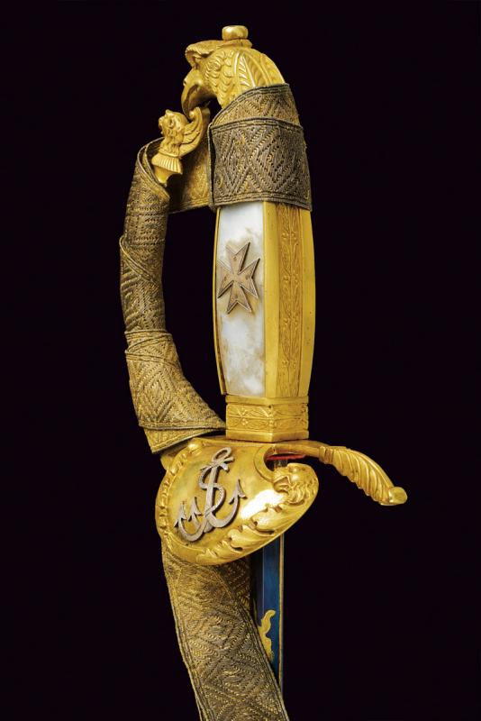 A rare knight's sword of the Military Naval Order of St. Stephen - Image 12 of 13