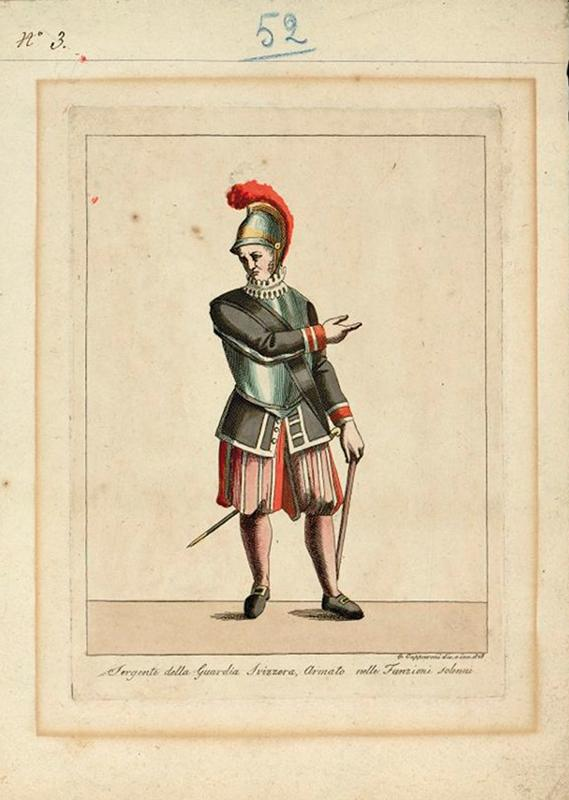 A very scarce Swiss papal Guard Helm - Image 7 of 7