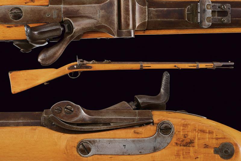 An 1862/67 model Wanzel Infantry rifle