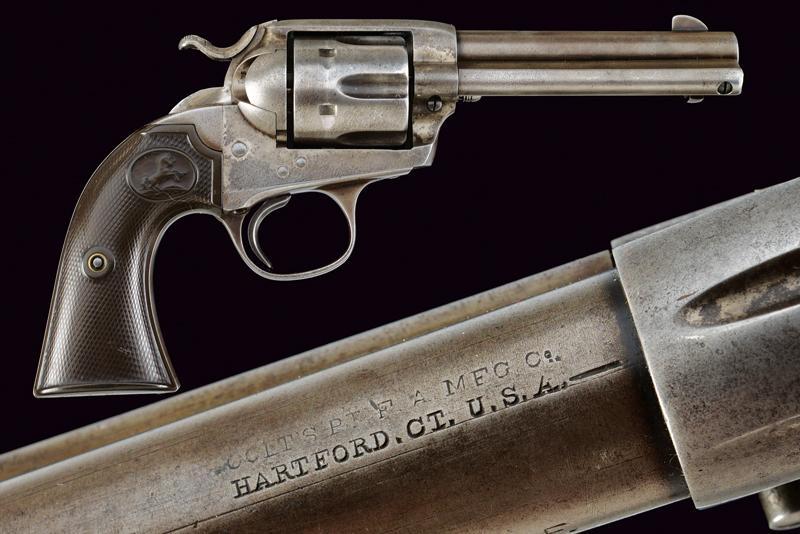 A Colt Single Action Revolver