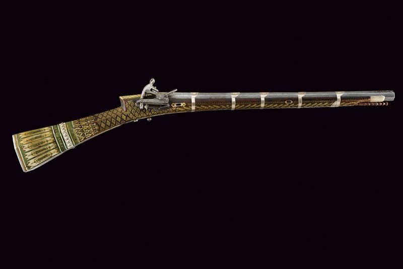An elegant and rare flintlock tufenk - Image 13 of 13