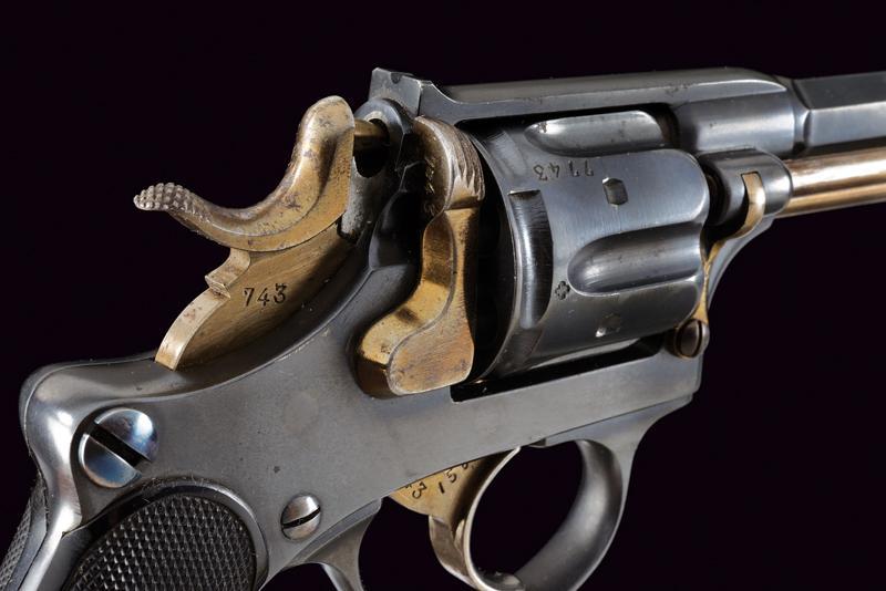 An 1882 model centerfire revolver - Image 2 of 8