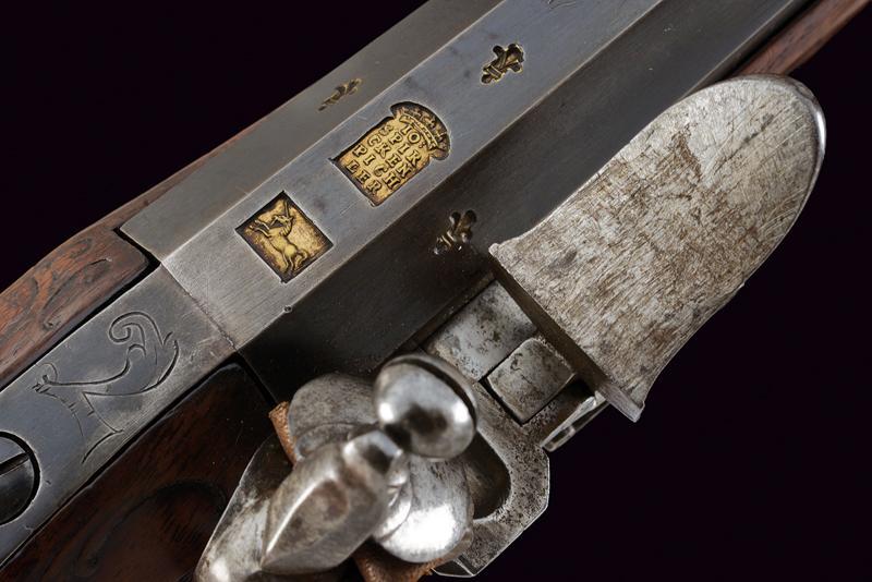 A flintlock gun by Spirckenpichler - Image 4 of 11
