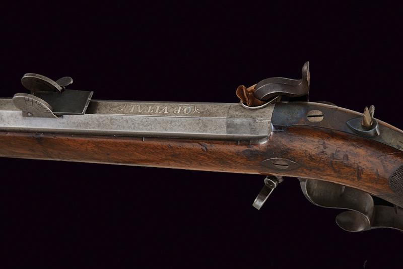 A percussion target rifle by Winter - Image 4 of 7