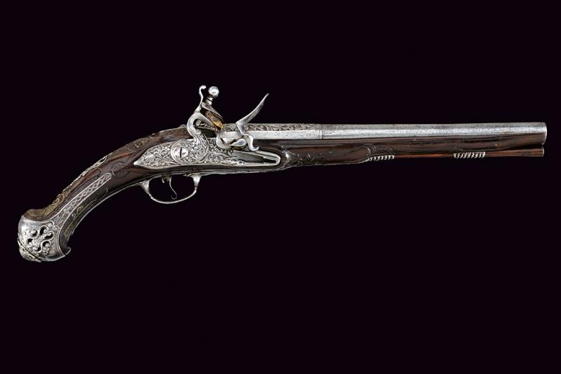 A beautiful flintlock pistol for the oriental market - Image 14 of 14