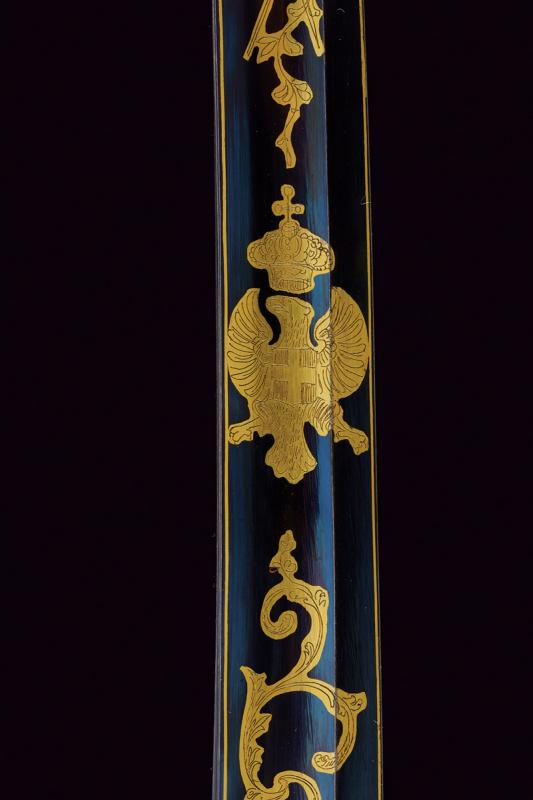 An 1855 model officer's sabre with beautiful blade - Image 3 of 7