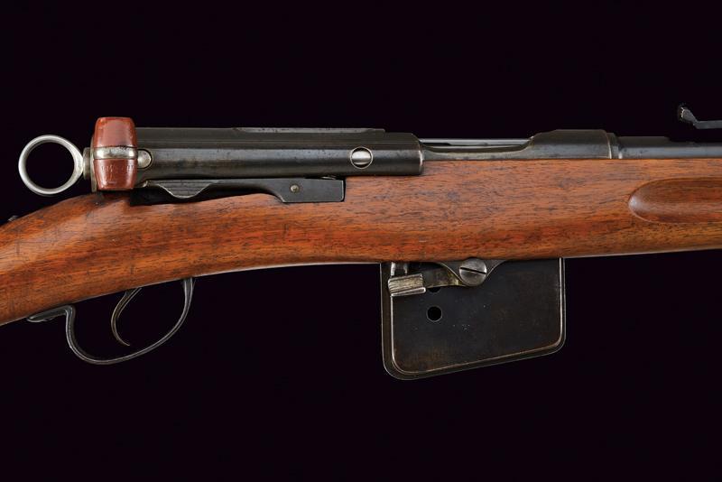 A model 1889 Rubin Schmidt rifle - Image 3 of 11