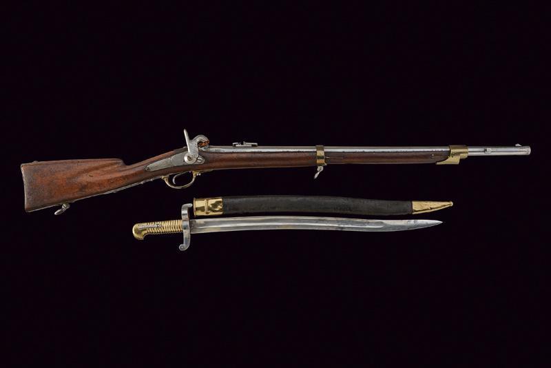 A grenadier's gun with bayonet - Image 5 of 5