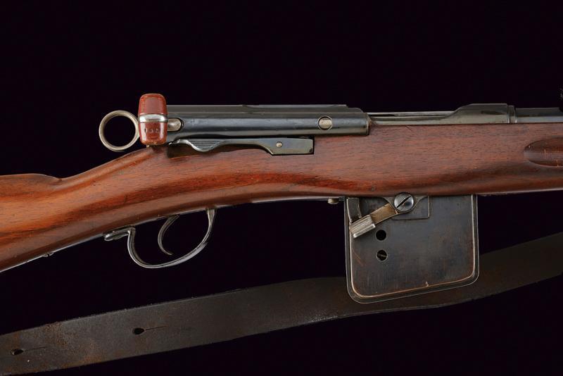 A model 1889 Rubin Schmidt rifle - Image 2 of 6