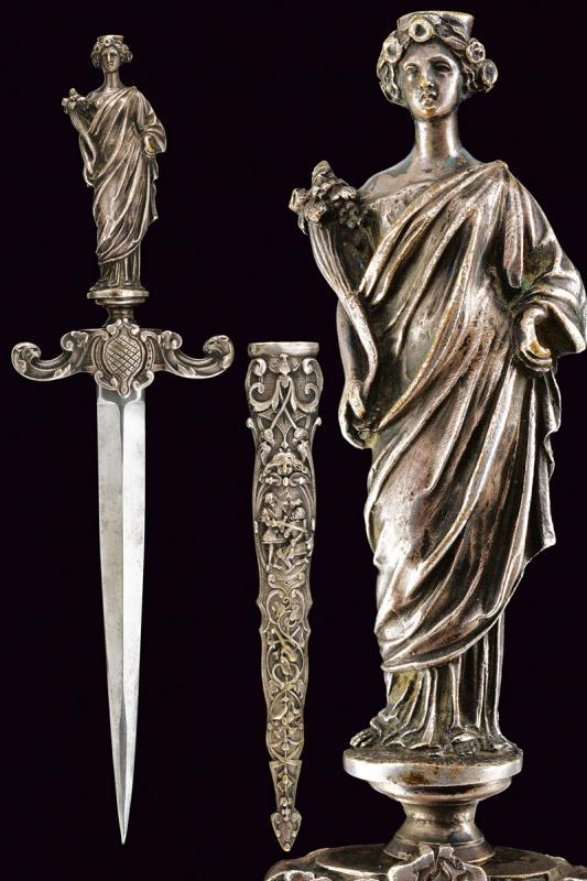 A romantic dagger