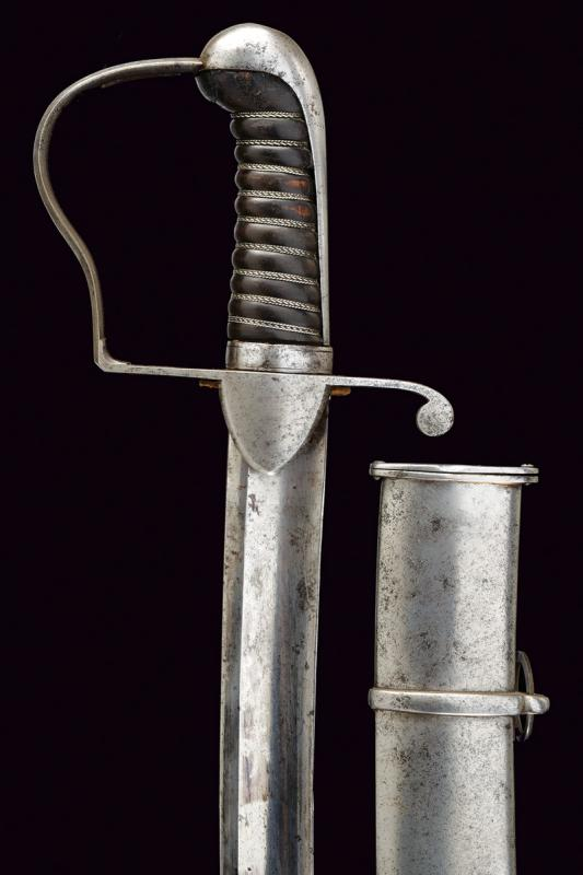 A 1796 model hussars and light cavalry officer's sabre - Image 3 of 7