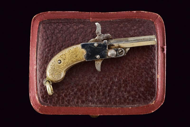 A pin-fire miniature pistol - Image 2 of 3
