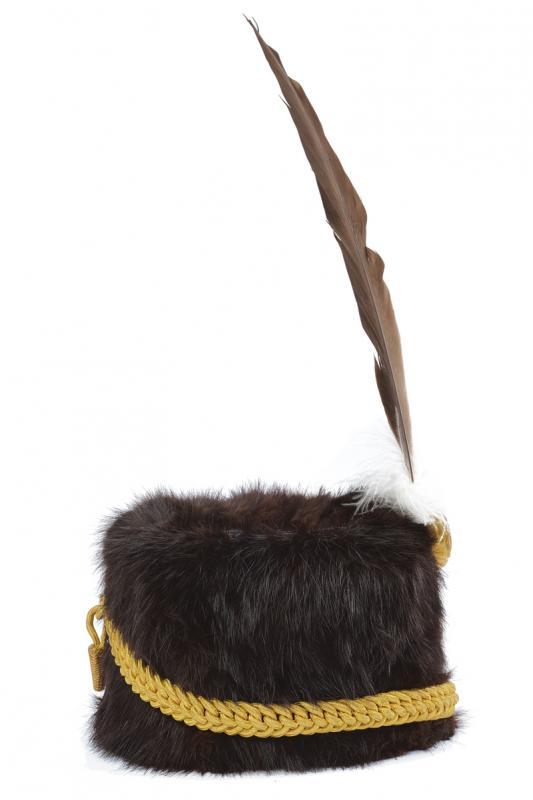 An officer's fur hat of the 'Lancieri di Firenze' regiment - Image 4 of 4