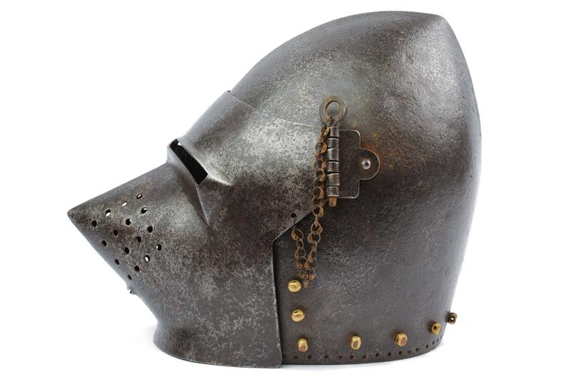 A bascinet in the 14th Century style - Image 2 of 5