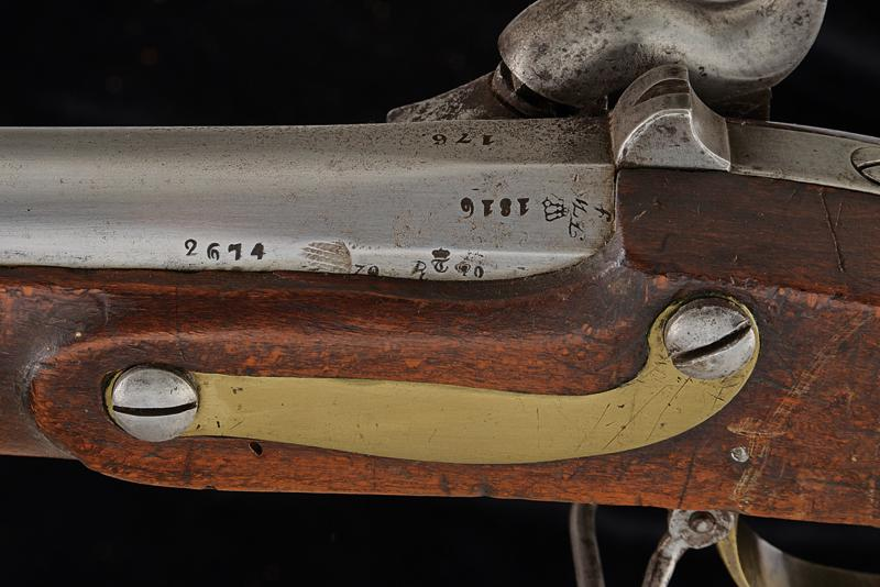 A percussion gun with bayonet of the Noble Guard - Image 4 of 5