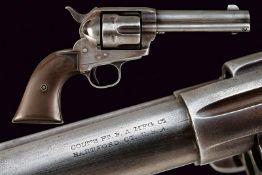 A Colt Single Action Army Revolver