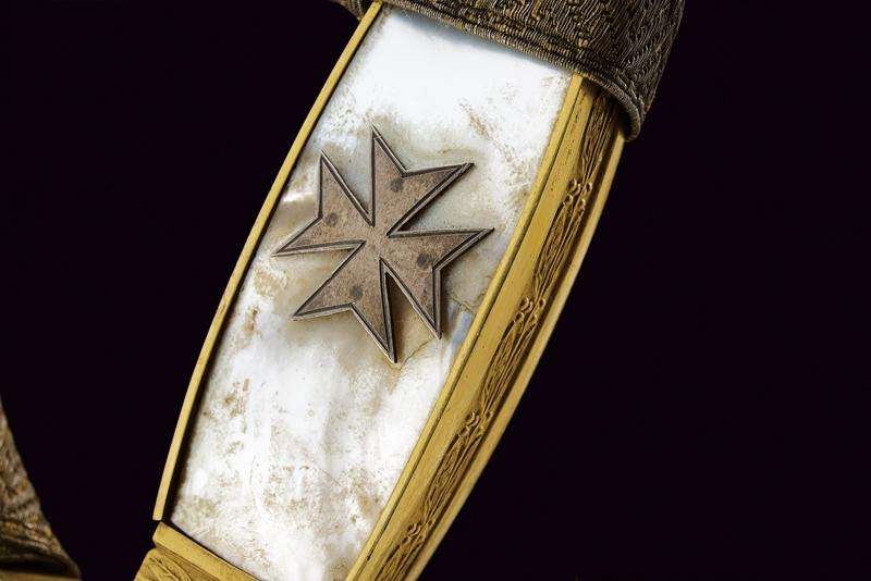 A rare knight's sword of the Military Naval Order of St. Stephen - Image 3 of 13