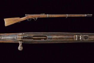 A rare Greene Breech Loading Rifle
