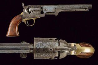 A Colt Model 1851 Navy Revolver