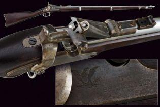 An 1866 model Allin Conversion Rifle