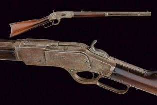 A Winchester Model 1873 rifle