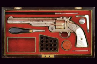 A S&W Model No. 3 First Model Single Action