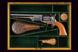 A cased Colt Model 1851 Navy Revolver