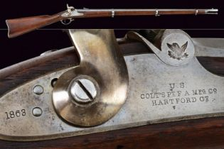 An interesting 1861 colt model Special Musket