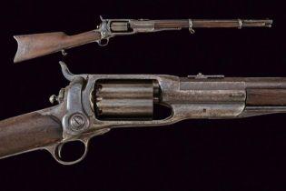 An interesting Colt 1855 Revolving Rifle