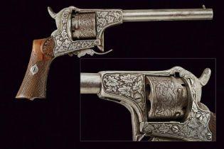 An interesting pinfire revolver