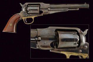 An 1858 Remington New Model Revolver