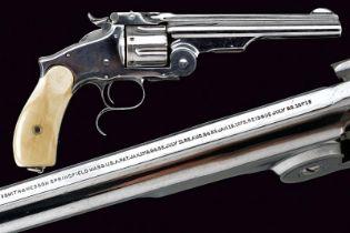 A rare S&W Third Model Russian revolver