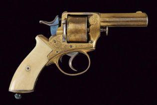 A rare and fine centerfire revolver by Primavesi & Sons