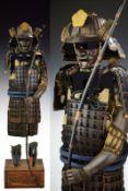 An archer's Mogami do Tosei Gosoku (Samurai Armour)