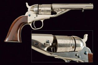 A 1862 Pocket Navy colt, Rimfire conversion, with extractor