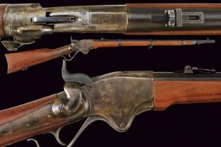 A 1865 model Spencer Repeating Rifle