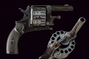 A rare 15-shot centerfire revolver