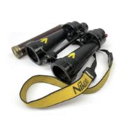 WW2 pair of Royal Navy Barr & Stroud 7x CF41 binoculars, Admiralty Pattern AP1900A serial no.77771,