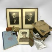 Archive of material and ephemera relating to Royal Canadian Army Medical Corps Lieutenant/Captain/Ma