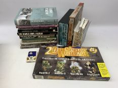 Nineteen modern books including The Western Front Experience by Gary Sheffield in slip case, boxed s