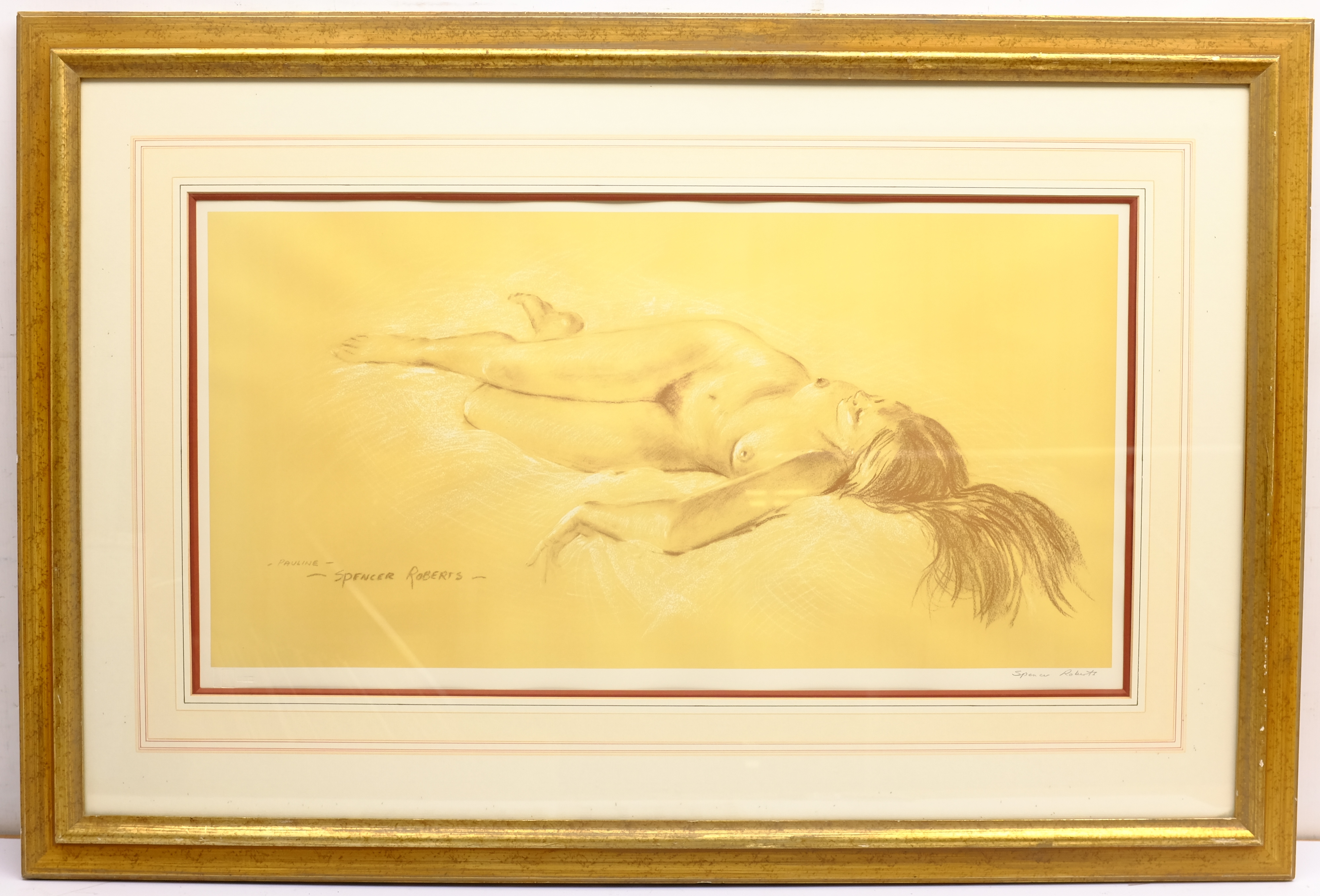 Arthur Spencer Roberts (British 1920-1997): 'Pauline', limited edition print signed in pencil with F - Image 4 of 4