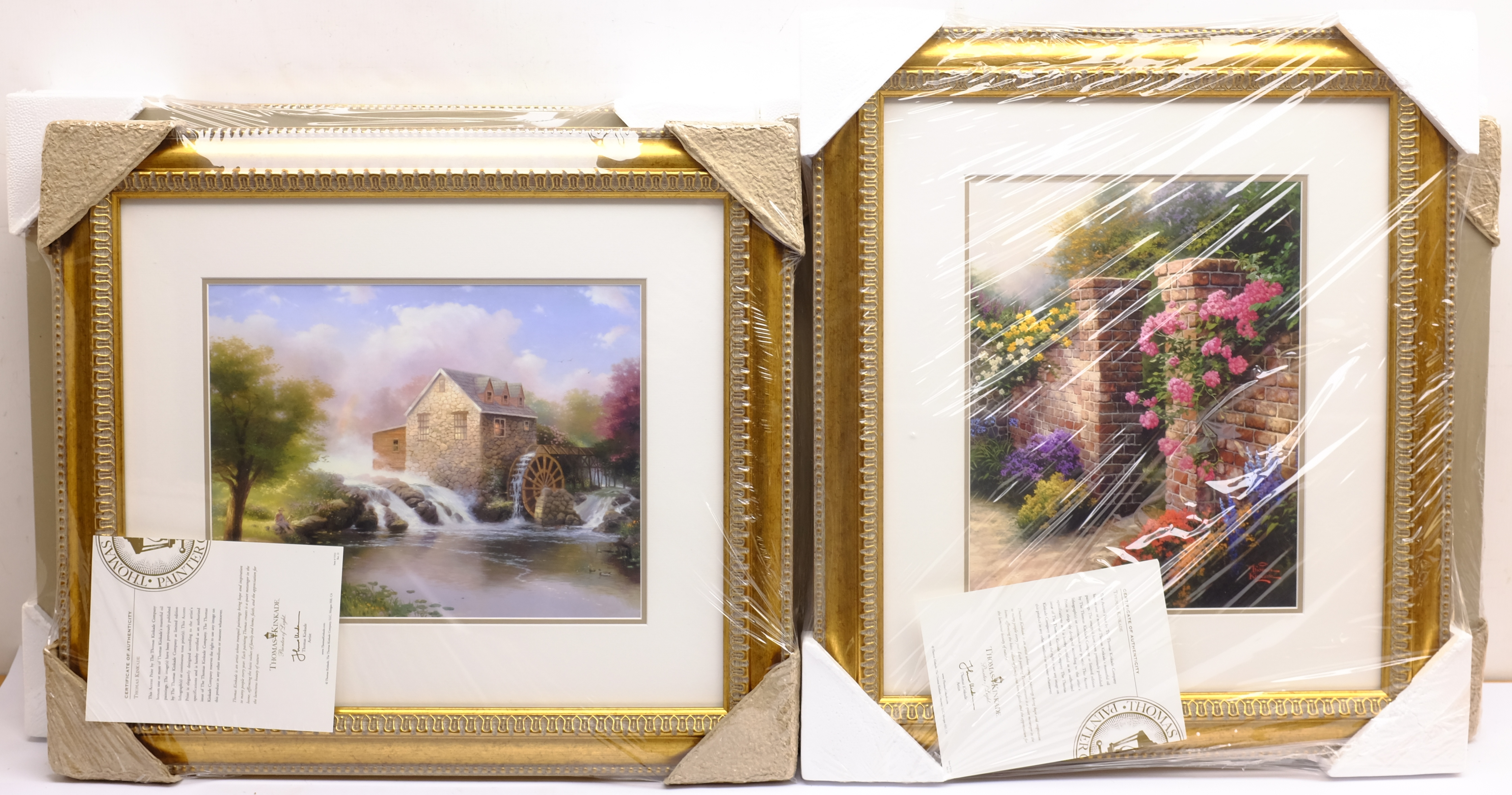 After Thomas Kinkade (American 1958-2012): Cottage and River scenes, set of six colour prints 28cm x - Image 4 of 4