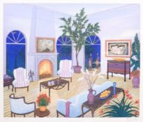Francois (Fanch) Ledan (French 1949-): The Living Room, limited edition colour print signed and numb