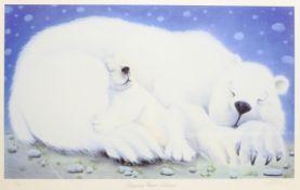 Mackenzie Thorpe (British 1956-): 'Sleeping Bear Dunes', limited edition giclee print signed titled