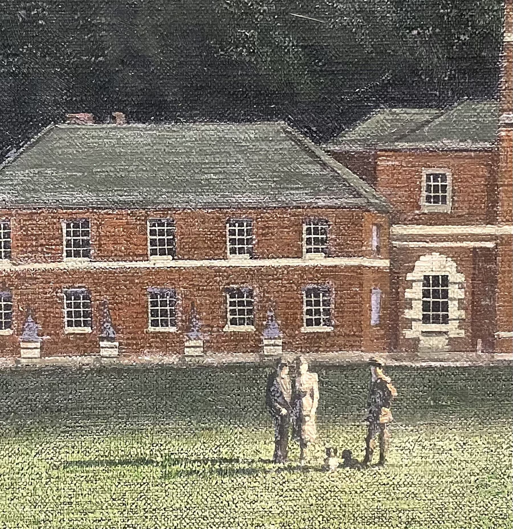 Algernon Cecil Newton RA (British 1880-1968): 'A View of Godmersham Park Kent on a Cloudy Day' - Image 4 of 12