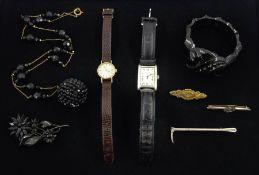 Omega Ladymatic 9ct gold manual wind wristwatch