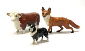 Three Beswick figures