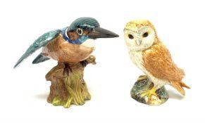Two Beswick birds