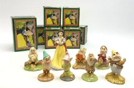 Royal Doulton Snow White and the Seven Dwarfs figurines