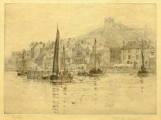 Rowland Langmaid (British 1897-1956): 'Whitby'